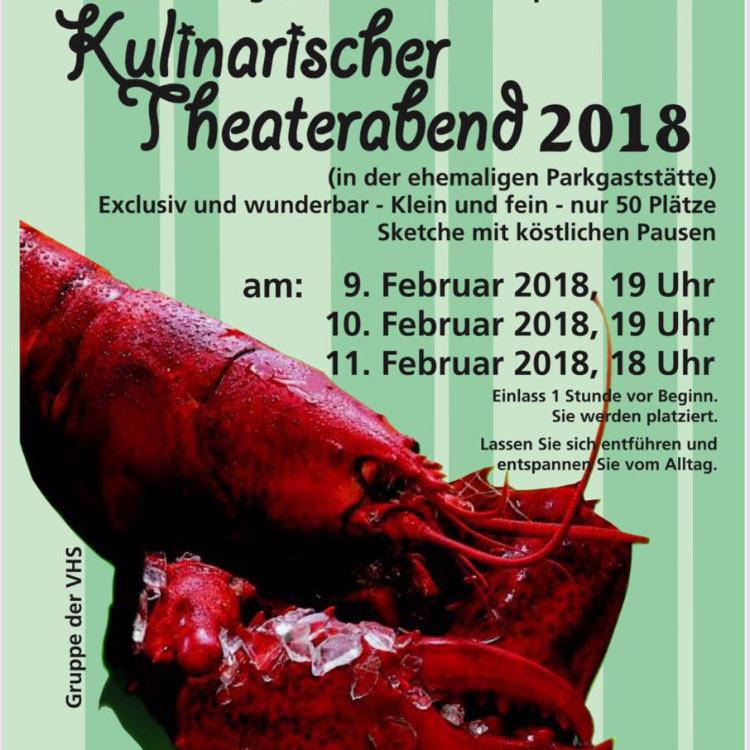 Kulinarischer Theaterabend 2018